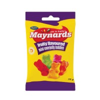 MAYNARDS ENERJELLY MINI TEDDIES 75GR