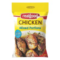 REAL GOOD CHICKEN IQF MIX PORTIONS 1.5KG