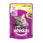 WHISKAS C/FD POUCH CHICK IN JELLY 85GR